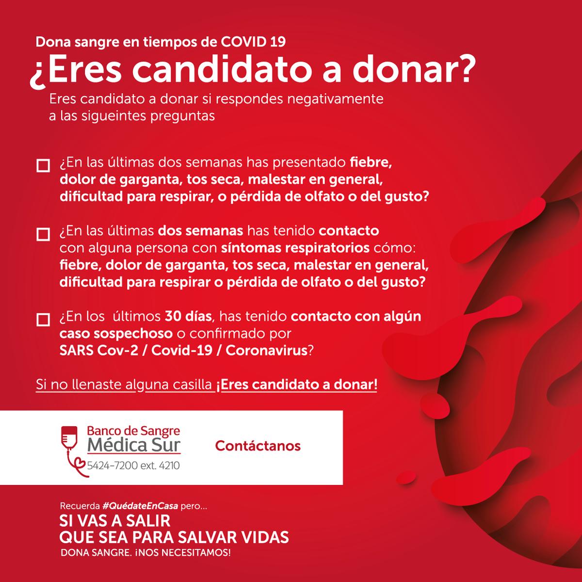 Medica Sur Banco De Sangre Y Medicina Transfusional